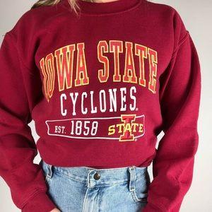 VINTAGE IOWA STATE CYCLONES | Crewneck Sweatshirt